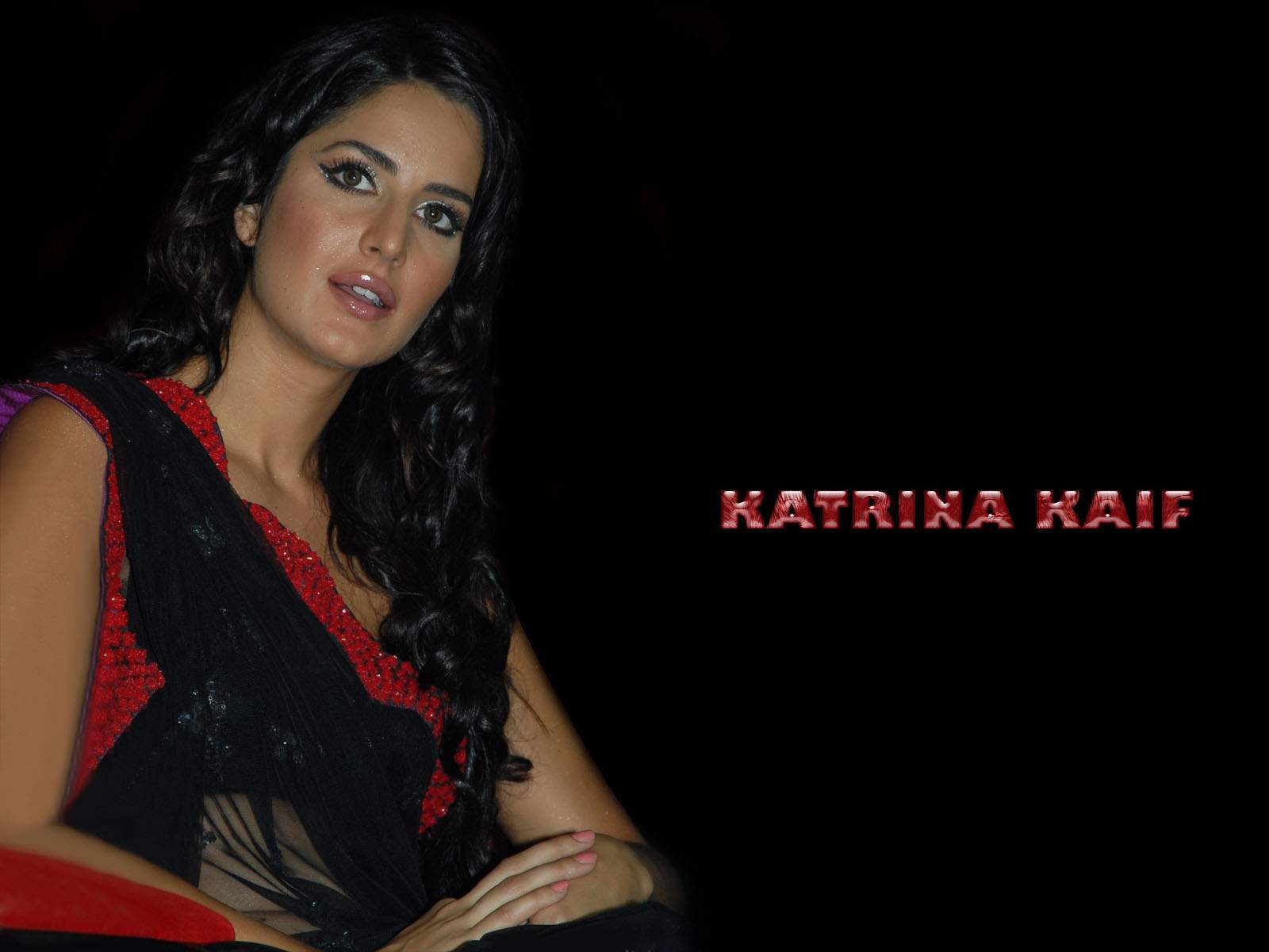 Katrina Kaif Katrina Kaif Hot Saree Photos-7091