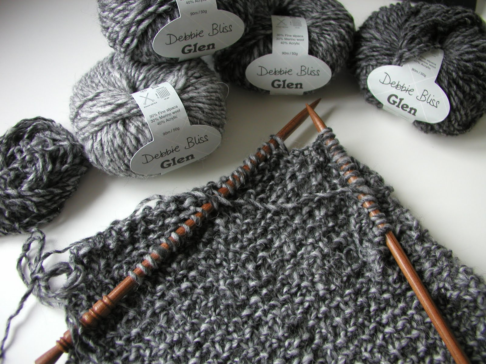 Hand Knitted Things Shades Of Grey