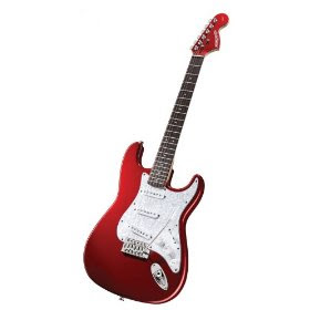 meomee emoticons review fender starcaster strat pack electric guitar with amp and accessories. Black Bedroom Furniture Sets. Home Design Ideas