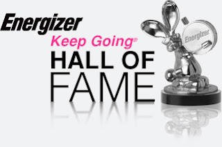 Energizer Keep Going Hall of Fame