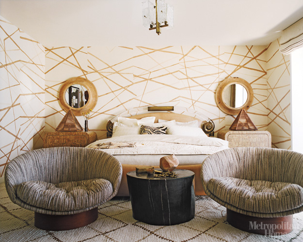 (We like Kelly's design style and have highlighted her design of EOS in  Miami and posted about her and Women in Design and Elle Decor)
