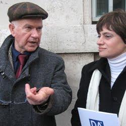 Il giudice Tosti e Carla Corsetti