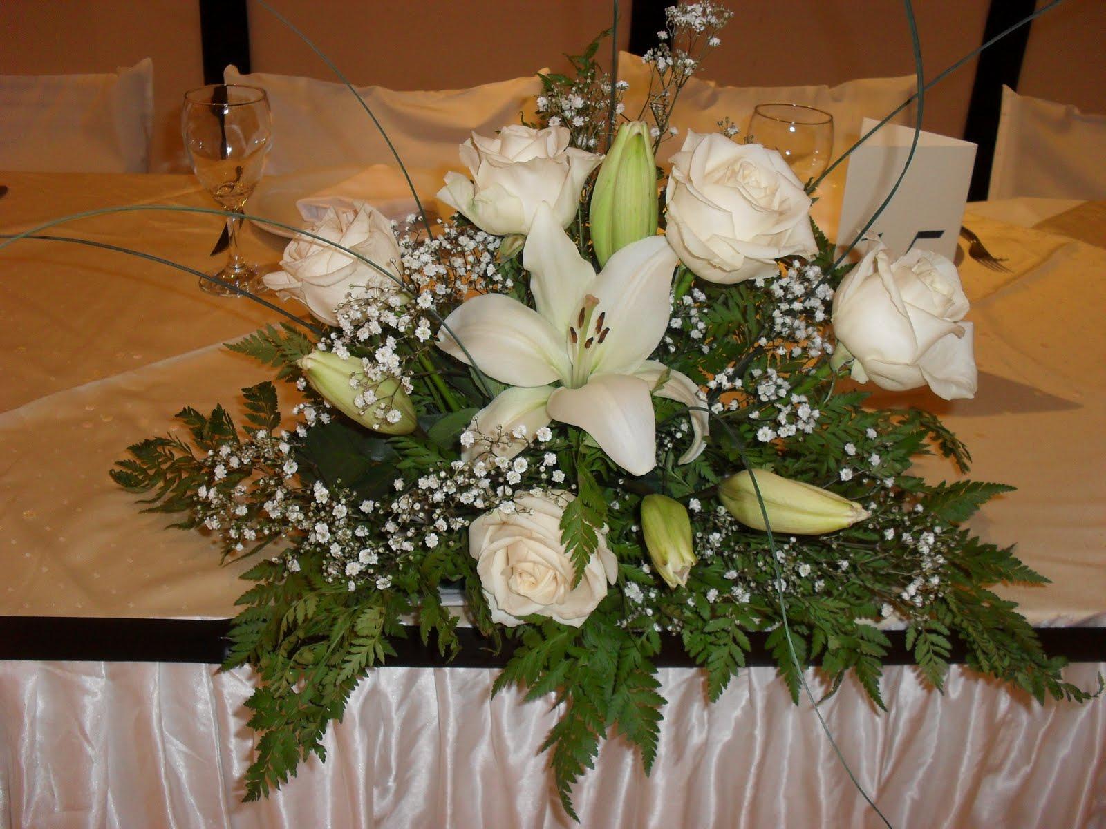 Zulma Palacios Eventos Centro De Mesa Con Flores Naturales - Centros-de-mesa-de-flores-naturales