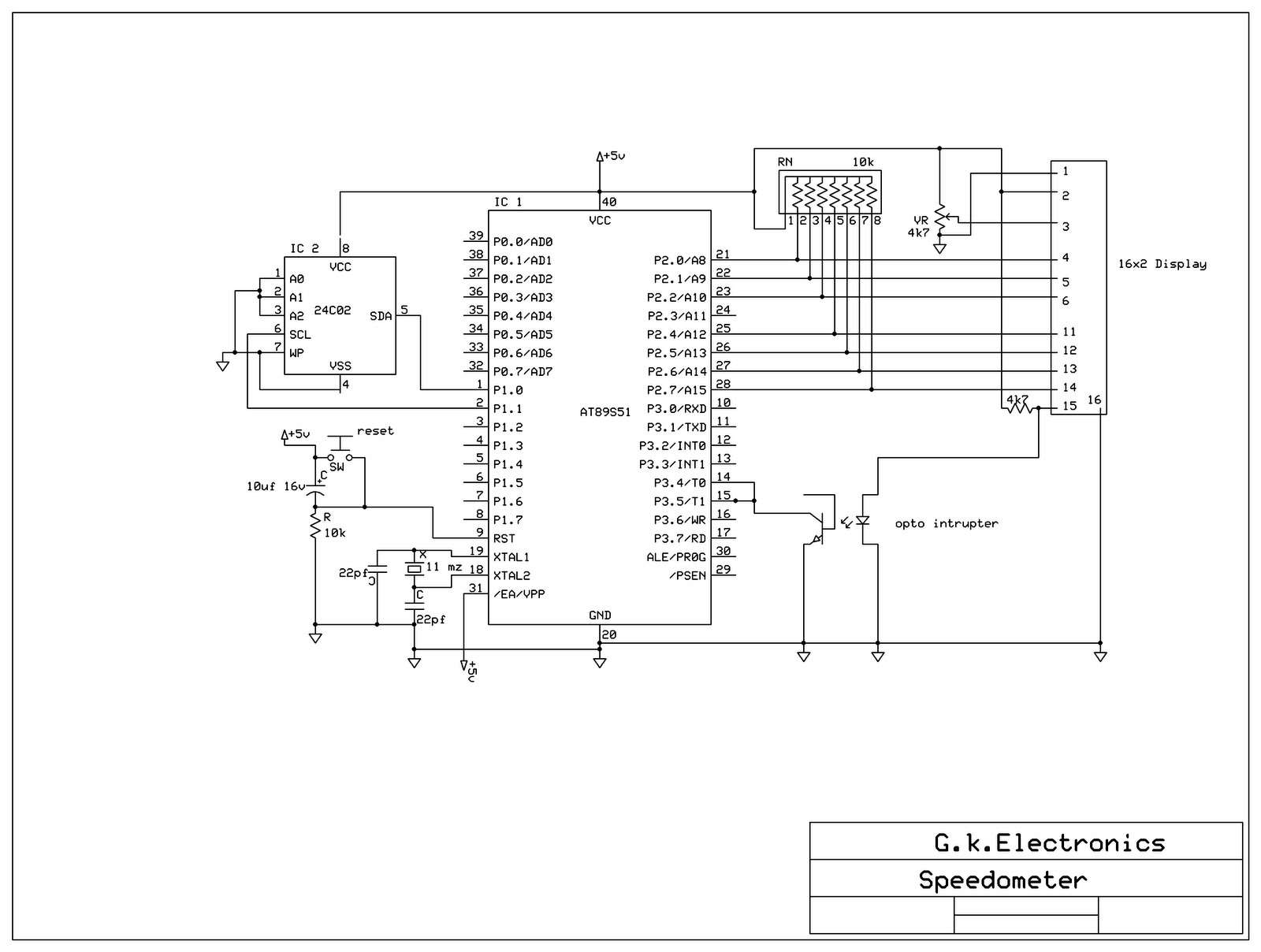 Digital Speedometer With 8051 Microcontroller Page 3 Free Projects 038 Circuits Http 4bpblogspotcom 8kradprmdgy Tdgxtdk43si Aaaaaaaaaga Pj0tx6o6 Iq S1600 Speedo