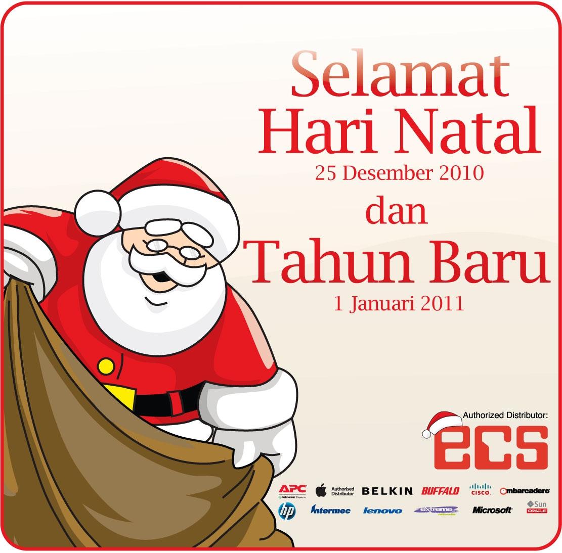 Pojok Berita: Selamat Hari Natal 2010 dan Tahun Baru 2011