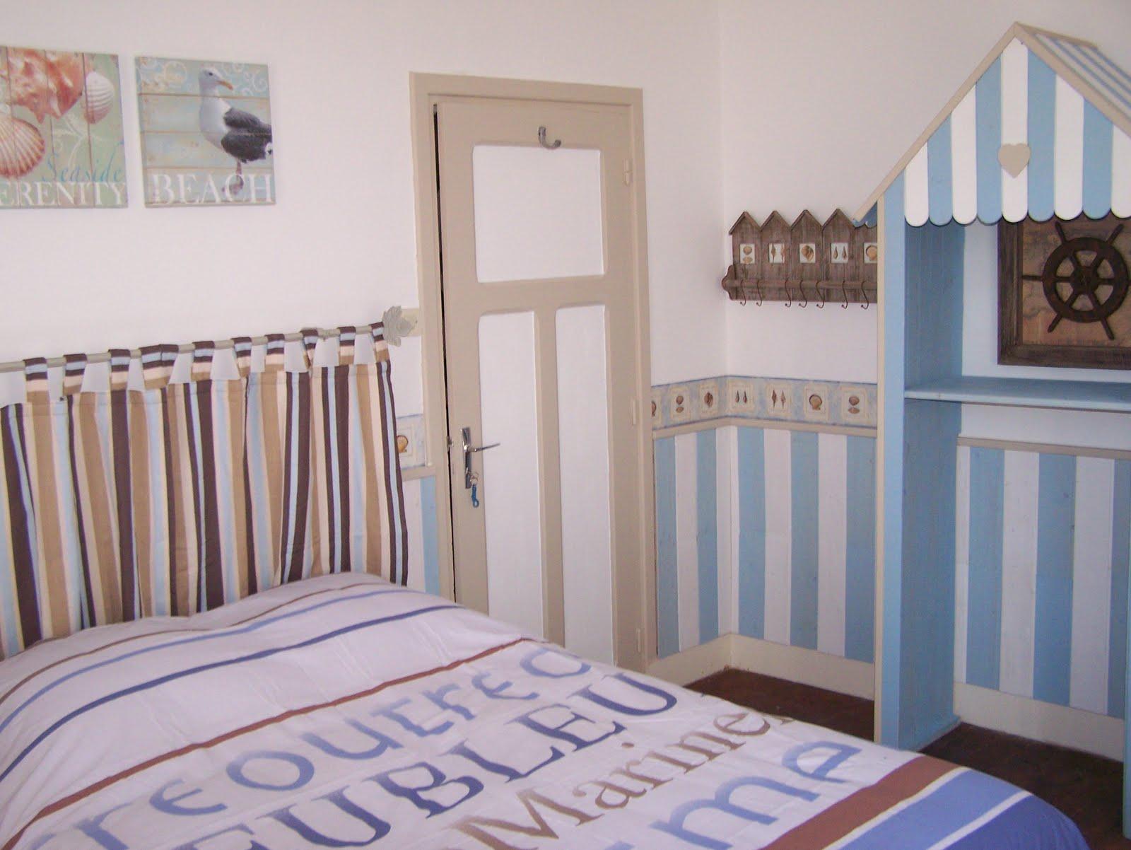 chambres d 39 h tes de charme chambre marine 1. Black Bedroom Furniture Sets. Home Design Ideas