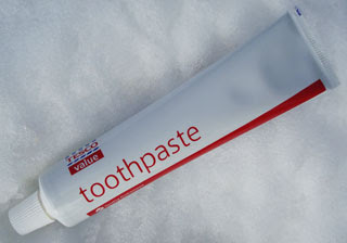 tesco value toothpaste