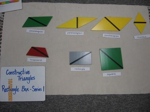 montessori spanish geometry training constructive triangles. Black Bedroom Furniture Sets. Home Design Ideas
