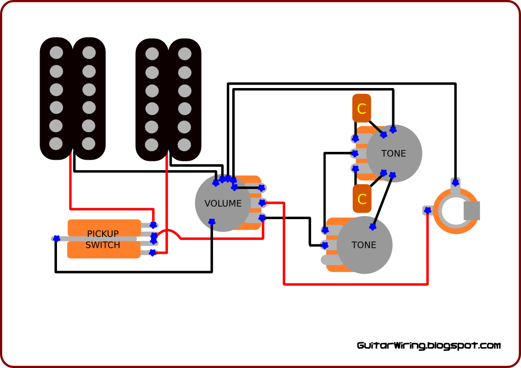tone pot wiring push pull tone pot wiring diagram