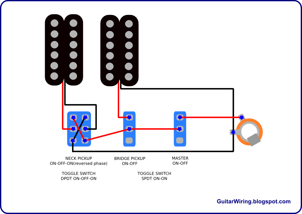guitar phase wiring diagram