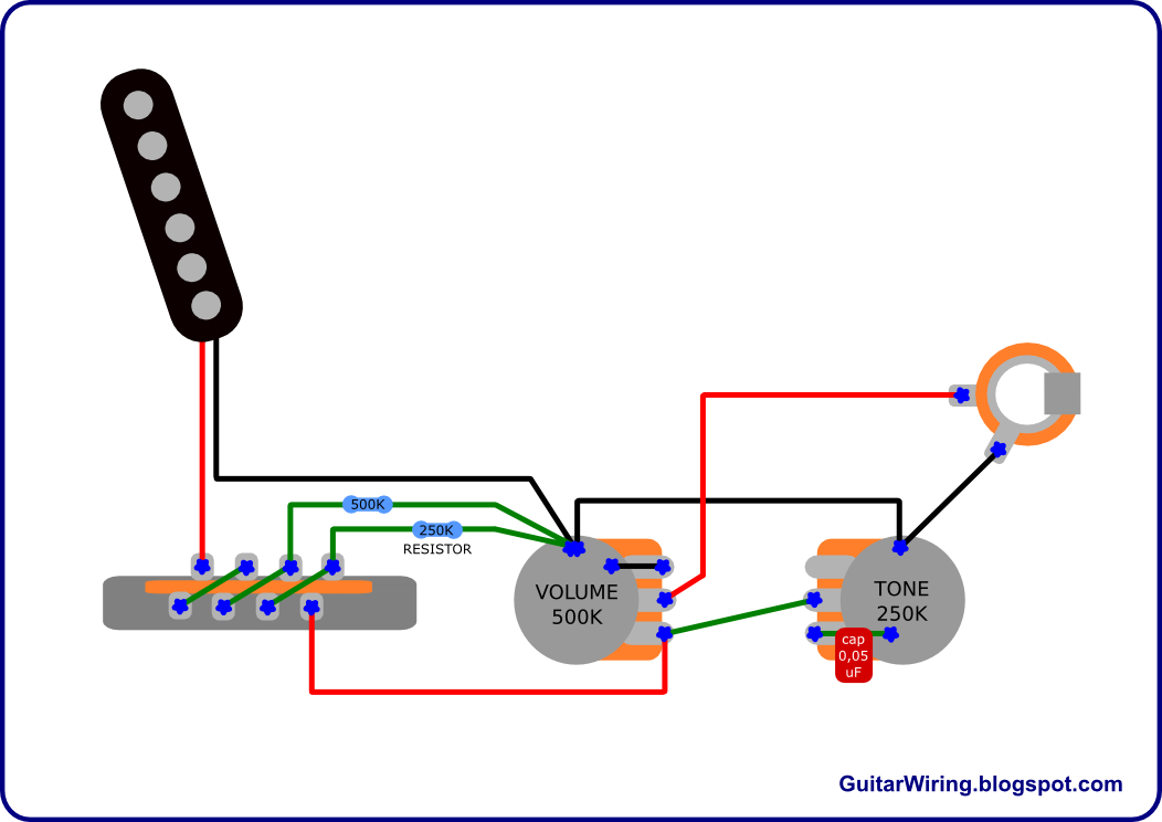 The Guitar    Wiring    Blog  diagrams and tips  February 2011