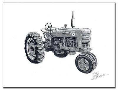Erik Art Works: International Harvester Farmall M