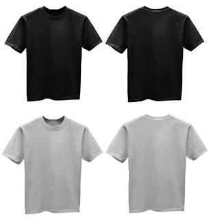 37 Aksesoris Kaos Oblong Warna Hitam Depan Belakang Kaos Oblong