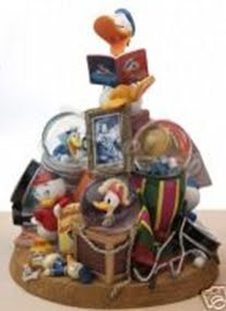 Disney Snowglobes Collectors Guide: Donald Duck Through the