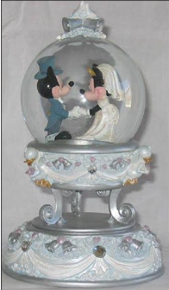 Disney Snowglobes Collectors Guide Mickey And Minnie