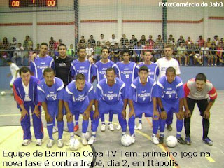 2e7f7822df da Redação-O Comercio do Jahú Paulo Cesar Grange-Jaú-SP A primeira fase da  Copa TV Tem de Futsal chegou ao fim na quinta-feira