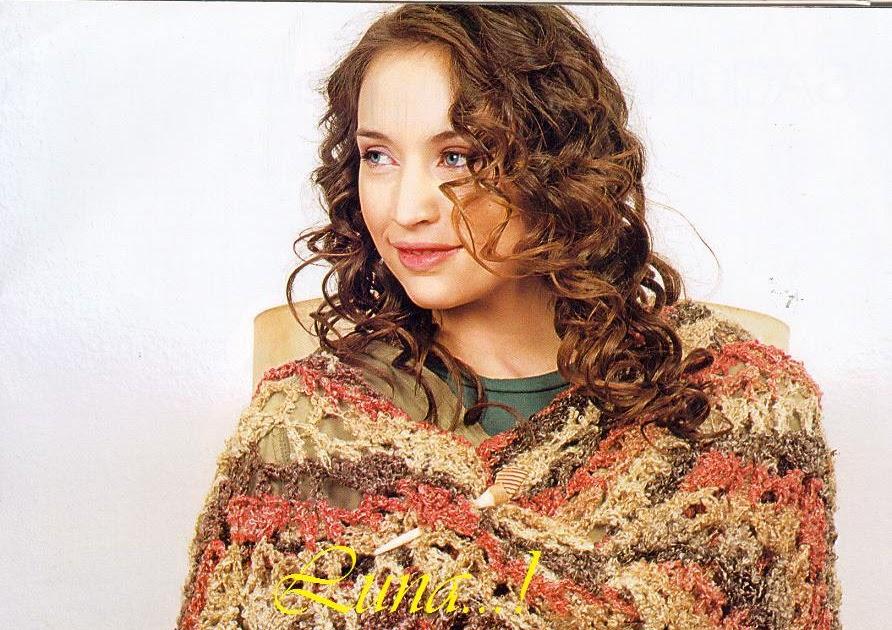 My Crochet , Mis Tejidos by Luna: Chal y Abrigo o Chamarra