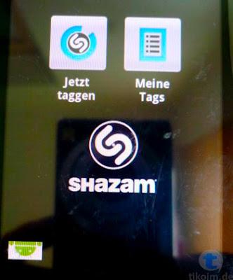 Shazam Musikerkennung