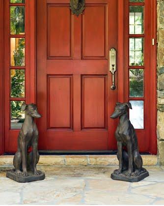 DOGINblogin: Dog Statues