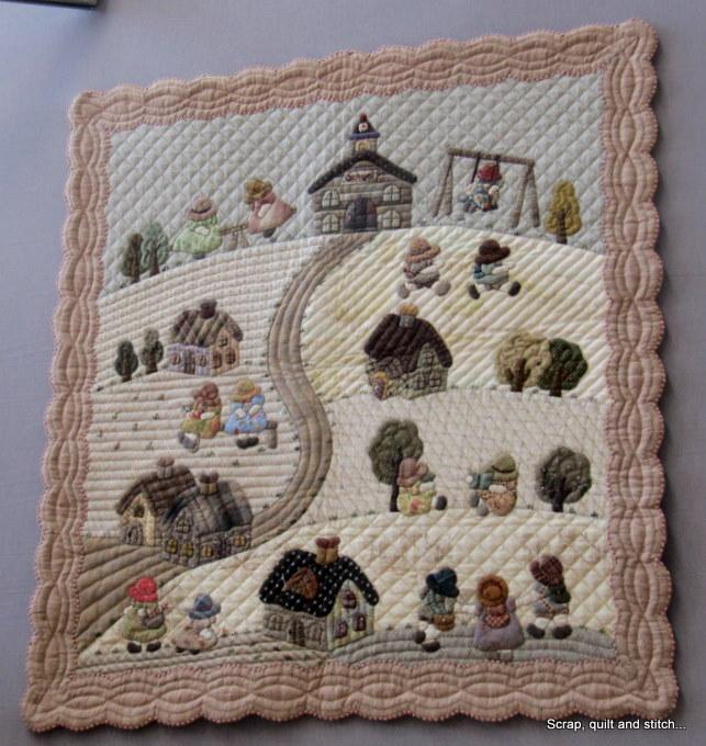 Scrap quilt and stitch la maison de reiko kato for Au maison quilts