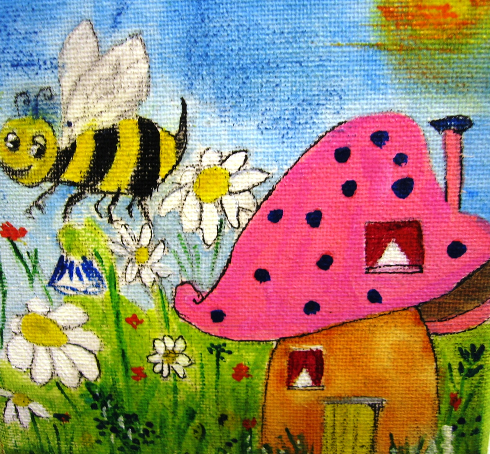 Childrens Wall Art Themed Canvas Paintings For Kids Nursery