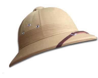 El salacot consiste en un sombrero usado en Filipinas y otros países  cálidos f80edba230a