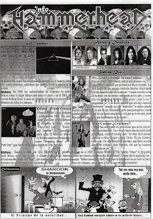 zine cover: Info...Hammerhead