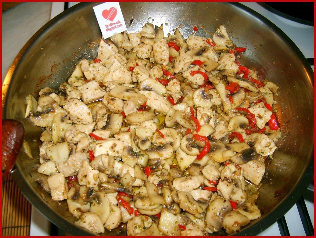Fırında Kremalı Mantarlı Tavuk Tarifi Denenmiş Tarifi