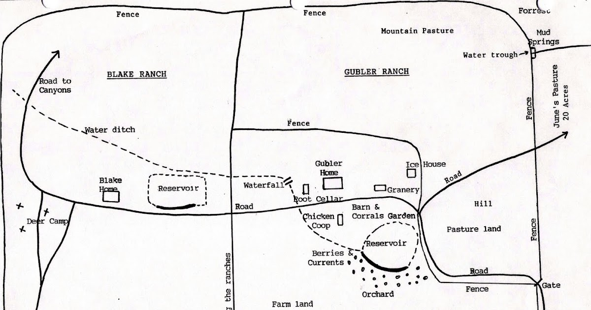 Hunt for Gublers: Pine Valley, Utah Ranch Layout