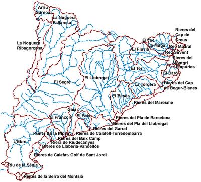 Rios De Cataluña Mapa.Mapa De Catalunya Mas De 100 Imagenes Para Descargar E Imprimir