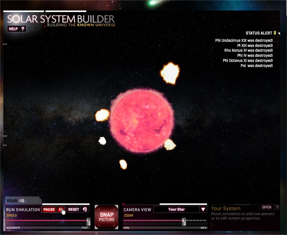 Solar System Builder Interactive (page 2) - Pics about space