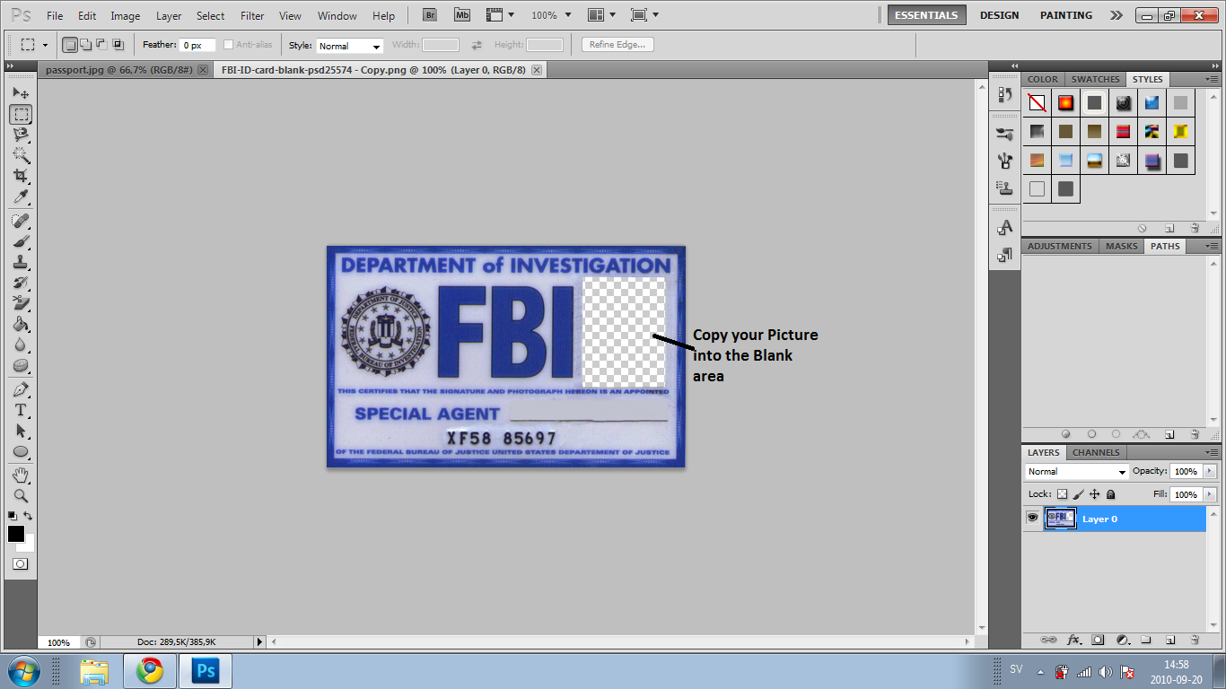 How to make a FBI ID card? | Software and Games - photo#40