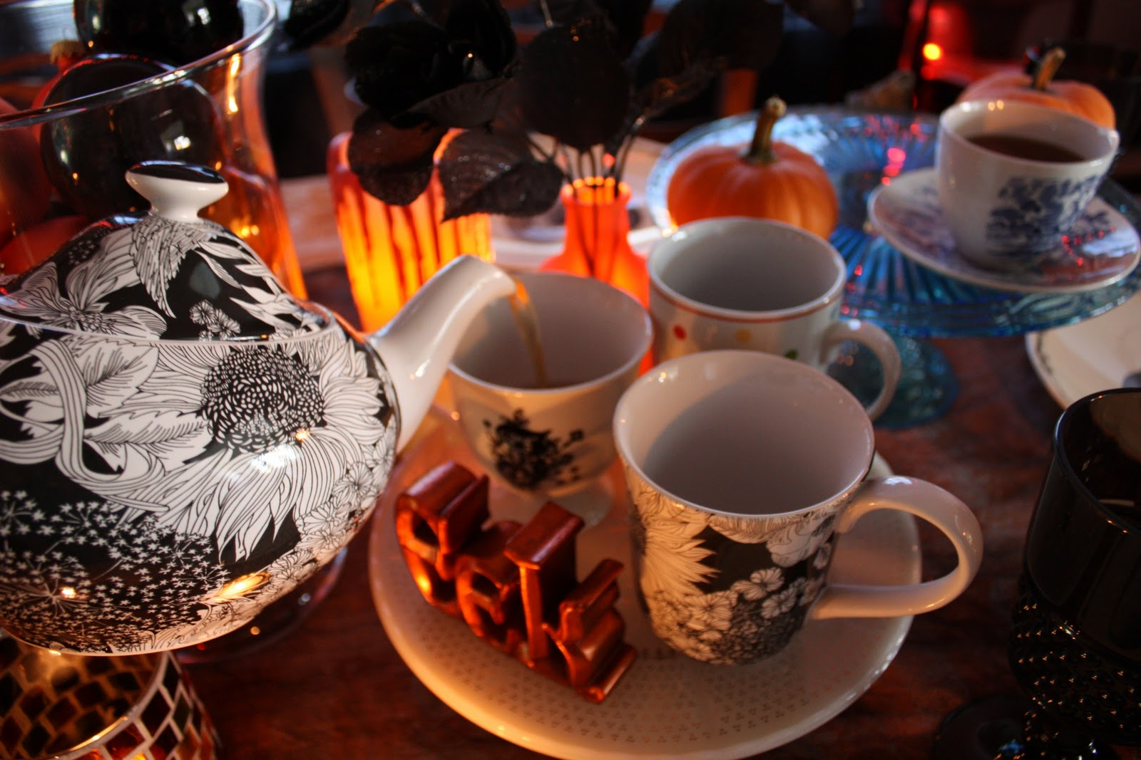The Witch Crafts Halloween Tea Party