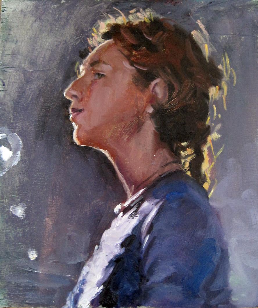 Portrait Rim Lighting