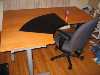 Moving Sale Toronto Ikea Galant Desk Workstation With T