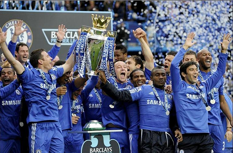 Chelsea Fc Champions Picture Special Chelsea True Blue