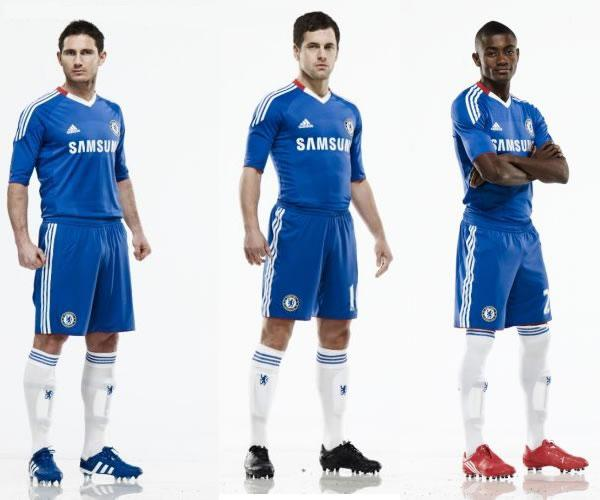 26d7803274a Chelsea 2010-2011 home kit revealed