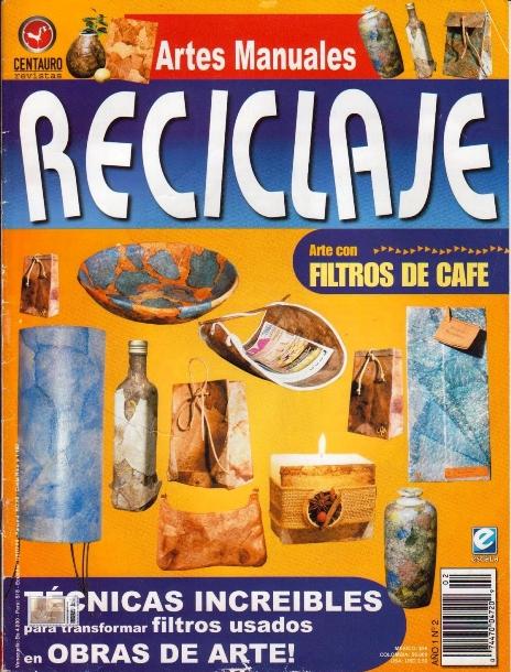 Revista  Reciclaje- Descarga gratis en Syl Quezada Arte & Diseño