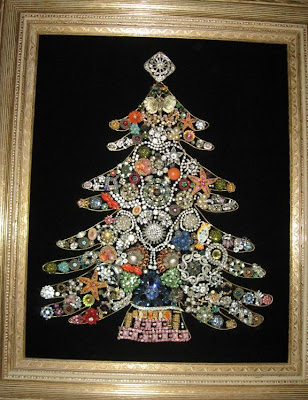 Jeweled Christmas Trees