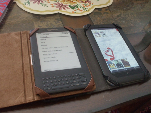 The Compulsive Reader: Reading Rants: Kindle and Nook Color