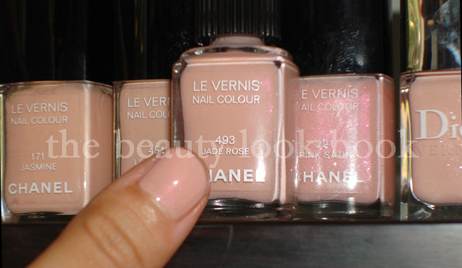 Chanel Jade Rose Nail Polish The Beauty Look Book