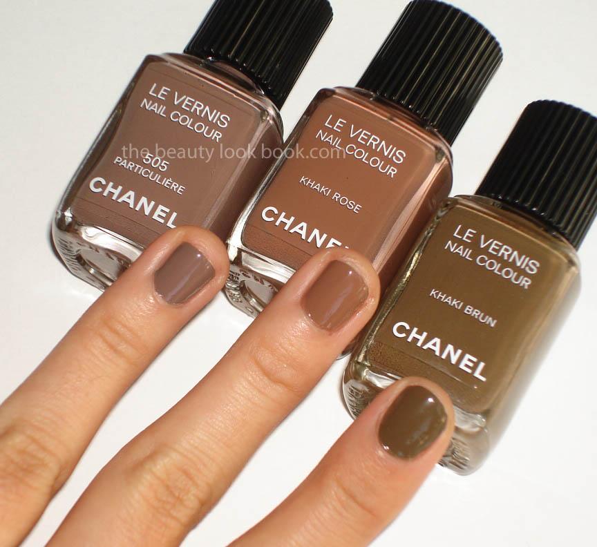 Les Khakis De Chanel Khaki Brun Khaki Vert Amp Khaki Rose The Beauty Look Book