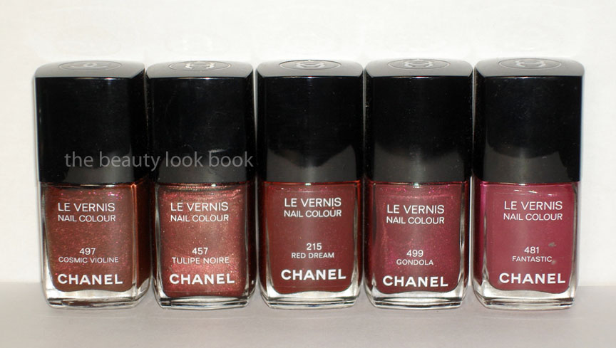 Chanel Le Vernis Nail Colour Collection The Beauty Look Book