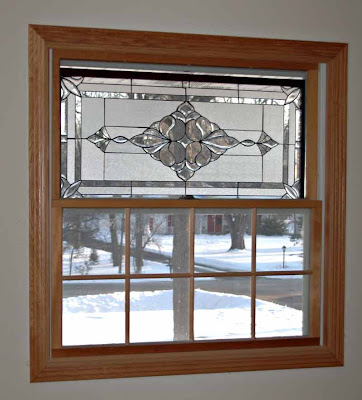 Beveled Glass stained glass window