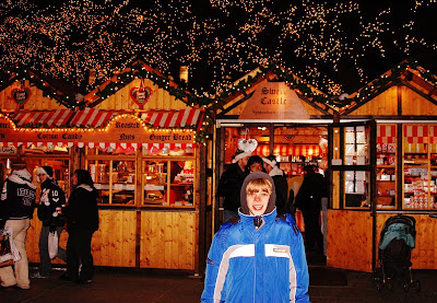 Christkindlmarket Chicago candy vendor Christmas Market