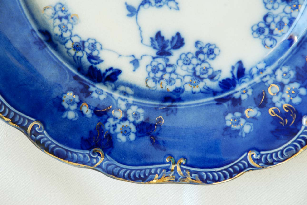 Flow Blue Dishes 115