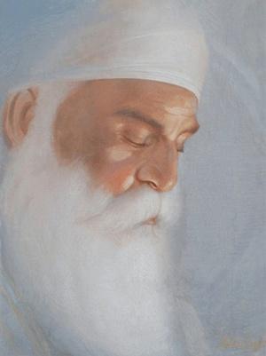 3d Wallpaper Guru Nanak Dev Ji Icebox Faces