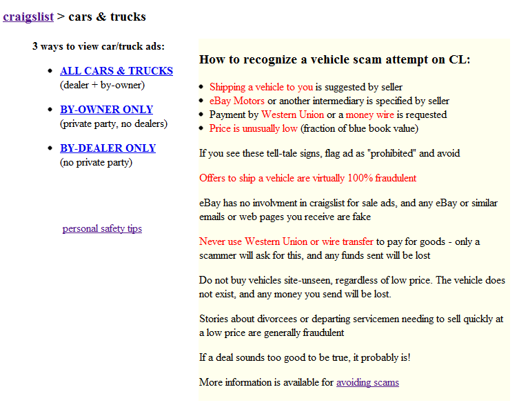 Craigslist Los Angeles Cars And Trucks By Owner: Craigslist For Trucks