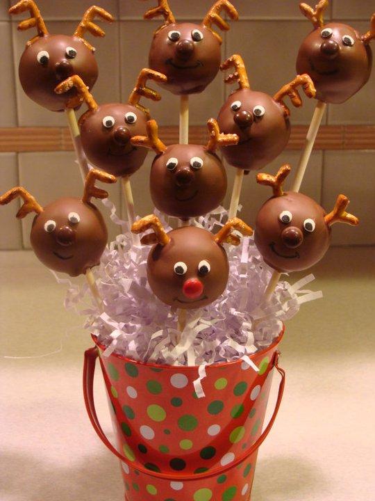 Sweet Treats By Bonnie Christmas Cake Pops