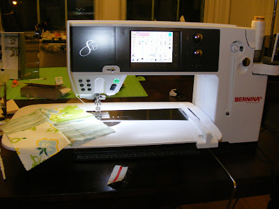 Camp Follower Bags And Quilts My New Bernina 820